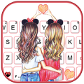 Best Friend Forever Keyboard Theme