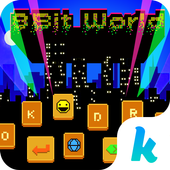 8-Bit World 🎮👾Keyboard Theme icon