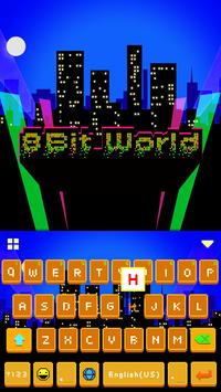 8-Bit World 🎮👾Keyboard Theme poster