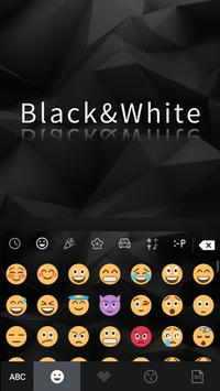 Classic Black Keyboard screenshot 1