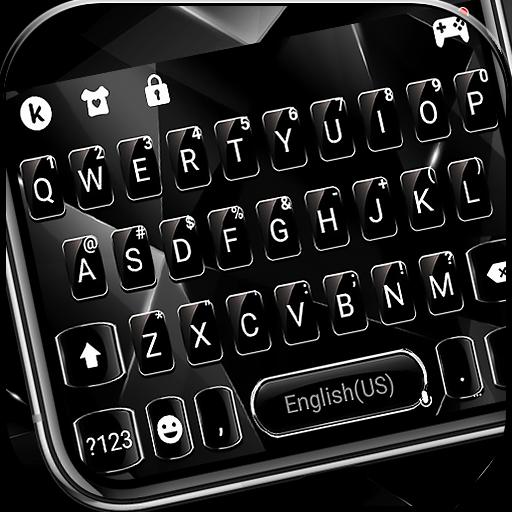 Cool black Keyboard Theme