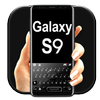 Black Galaxy S9 simgesi
