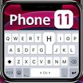 Black Phone 11 Keyboard Theme