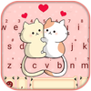 ikon Tema Keyboard Cat Love