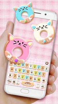 Colorful Donuts Button 포스터