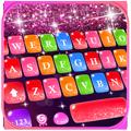 Colorful Glitter Keyboard Theme