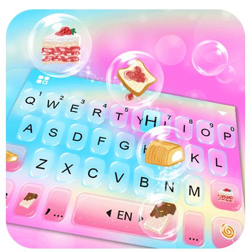 Colorful Bubbles Keyboard Theme