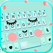 ثيم لوحة المفاتيح Cute Sweet Face أيقونة