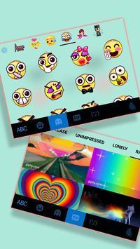 ثيم لوحة المفاتيح Cute Sweet Face تصوير الشاشة 3