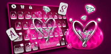 Diamond Purse Keyboard Theme