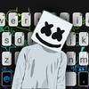 Dj Music Doodle Klavye Teması simgesi