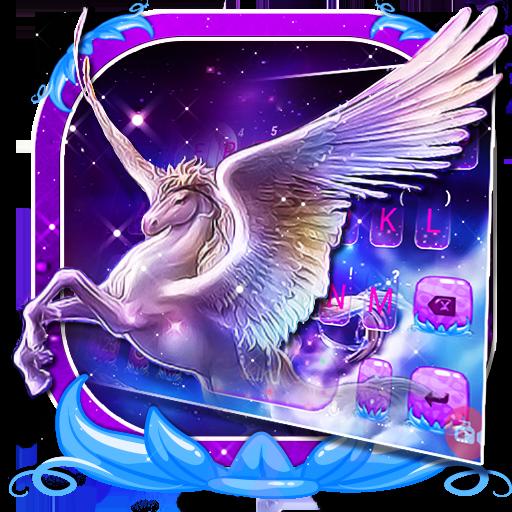 Dreamy Wing Unicorn 主題鍵盤