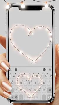Fairy Lights Heart 포스터