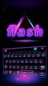 Flash Emoji Kika KeyboardTheme poster