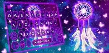 Galaxy Dream Catcher Keyboard Theme