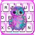 Galaxy Owl Keyboard Theme