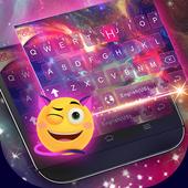 Dreamer Galaxy Emoji Keyboard Theme icon