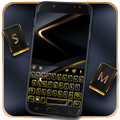 Gold Black Business Keyboard Theme