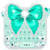 Klawiatura motywów Green Diamond Bow ikona