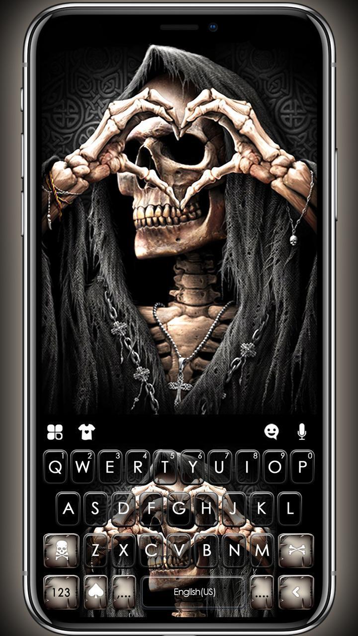 Grim Reaper Skull Love For Android Apk Download