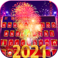 Happy New Year 2021 Keyboard Background