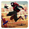 Into The Spider Verse Tastatur-Thema