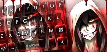Jeff The Killer Keyboard Theme