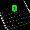 Thème de clavier Led Neon Black icône