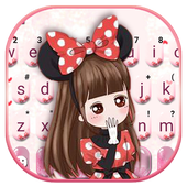 Lovely Bowknot Girl icon