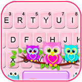 Lovely Owls Keyboard Theme