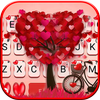 Tema Keyboard Lovely 3d Pedals Heart ícone