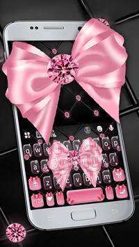 Luxury Pink Bow poster