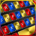 Metal Black Color Keyboard Theme