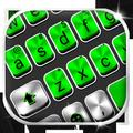 Metal Green Tech Keyboard Theme