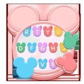 Tasty Mickey Macaroon Keyboard icon