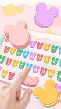 Tasty Mickey Macaroon Keyboard screenshot 1