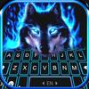 Icona Nuovo tema Cool Neon Wolf per Tastiera