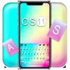 Hình nền bàn phím New OS 11 biểu tượng