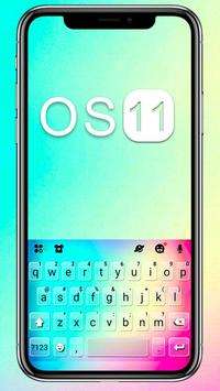 Hình nền bàn phím New OS 11 bài đăng