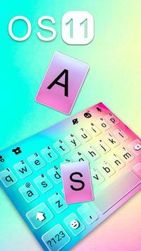 Hình nền bàn phím New OS 11 ảnh chụp màn hình 1