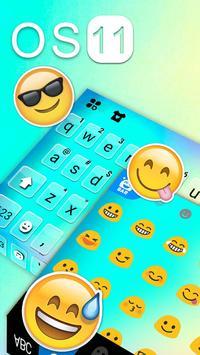 Hình nền bàn phím New OS 11 ảnh chụp màn hình 2