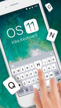 Os11 키보드 테마 포스터