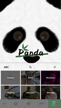 Klawiatura motywów Panda screenshot 2