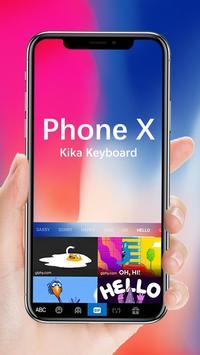 Keyboard for Phone X screenshot 1