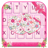 Pink Floral Hearts icon