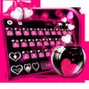 Pink Heart Glass 아이콘