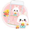 Pink Lovely Bunny icon