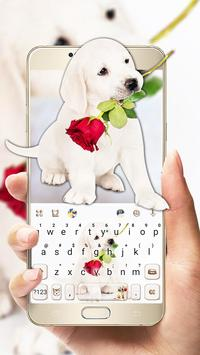 Puppy Love Rose poster