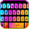 Rainbow Gradient Glitter icono