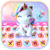 Rainbow Unicorn Smile-icoon